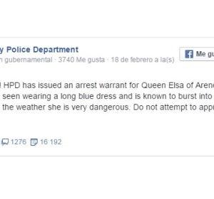 Mensaje broma de la Policía de Kentucky