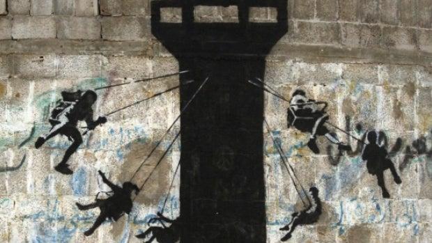 Columpio en Gaza