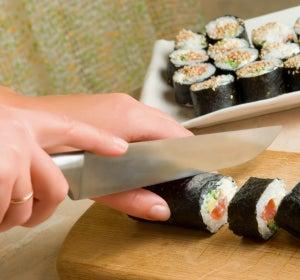La preparación de un buen sushi
