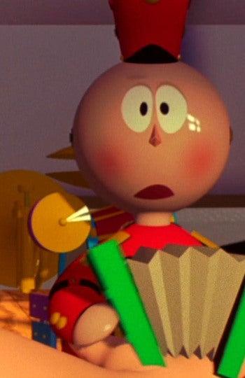 Tin Toy, el protagonista de un corto con el mismo nombre de Pixar de 1988