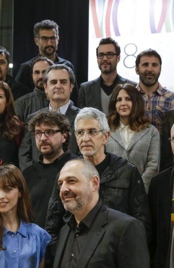 Presentación en Madrid de los directores de la Sección Oficial