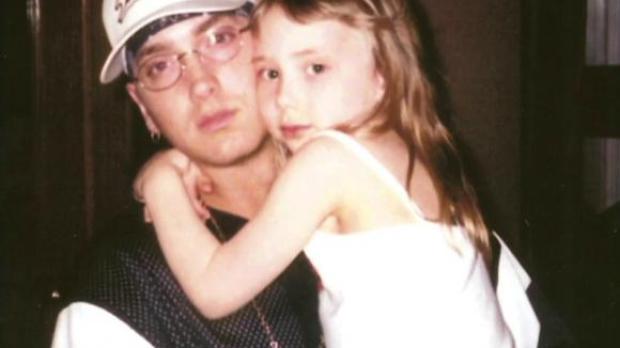 Eminen hace años con su hija