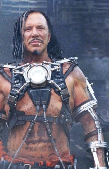 Mickey Rourke en 'Ironman 2'
