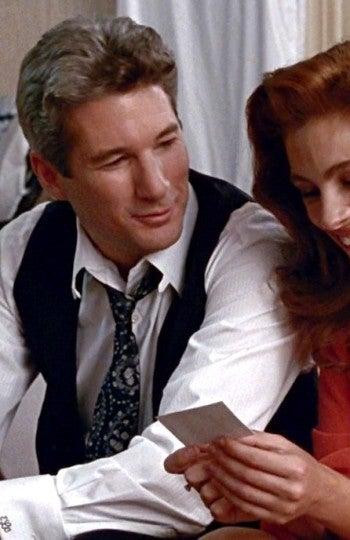 Los dos actores en la película