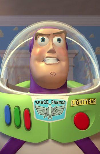 Buzz Lightyear nunca creyó ser un juguete