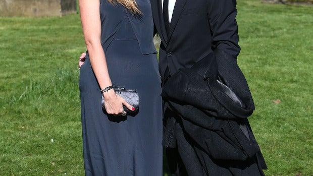 Martina Klein y Alex Corretja, entre los invitados