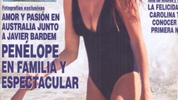 ¡Hola! abre en portada a Penélope y Javier Bardem