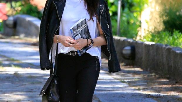 Pilar Rubio con un look muy rockero