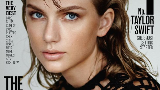 Taylor Swift, portada de la revista Maxim
