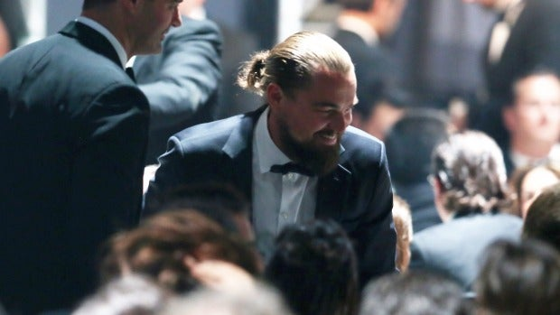 Leonardo DiCaprio en la gala benéfica anfAr