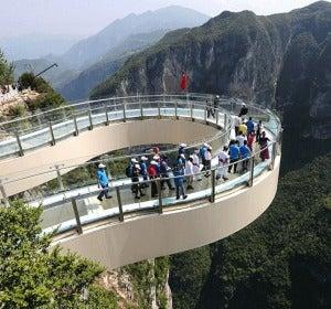 El aterrador Skywalk más alto del mundo