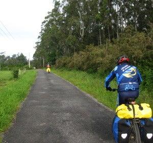 Ruta por el Camino de Santiago en bici