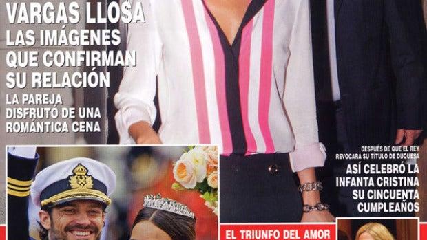 Isabel Preysler y Vargas Llosa confirman su relación