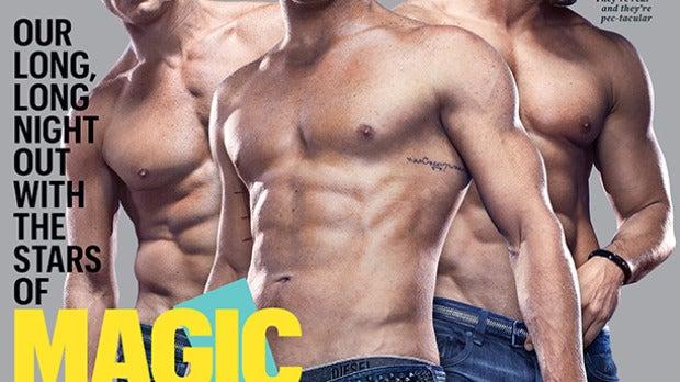 Channing Tatum, Matt Bomer y Joe Manganiello muy sexys