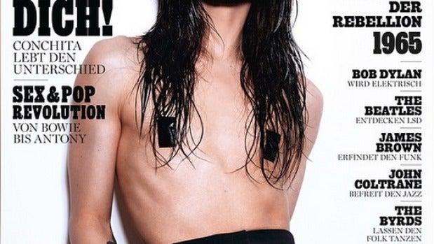 Conchita Wurst para Rolling Stone