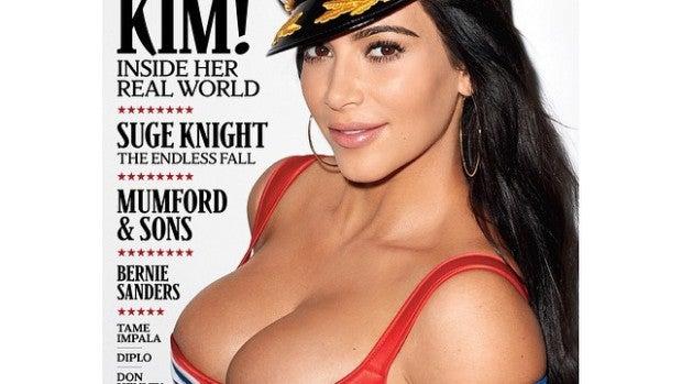 Kim Kardashian en la portada de Rolling Stone