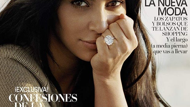 Kim Kardashian, portada de Vogue España