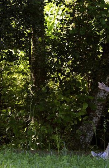 Mariano Rajoy recorre la Ruta da Pedra e da Auga durante sus vacaciones