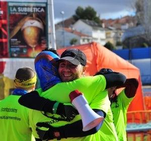 Final de la Maratón de la Vía Verde del Tajuña
