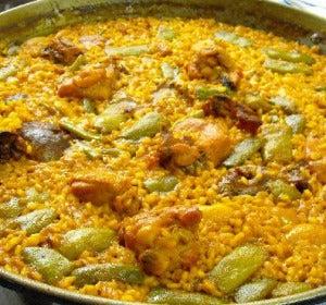 Paella valenciana
