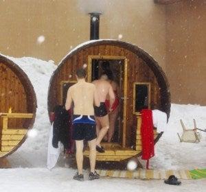 Maratón Europea de Saunas
