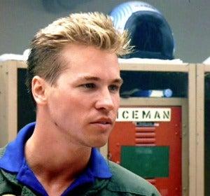 Val Kilmer como Iceman