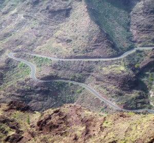 Carretera Agaete-La Aldea (Gran Canaria)