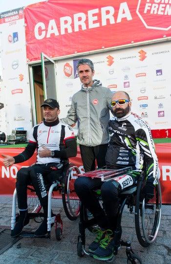 Ganadores modalidad handbike