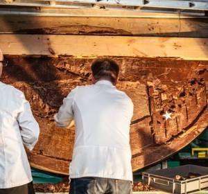 Así es la moneda de chocolate más grande del mundo