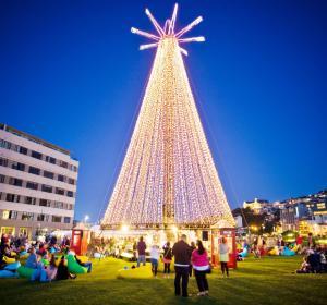 Árbol de Navidad en Wellington