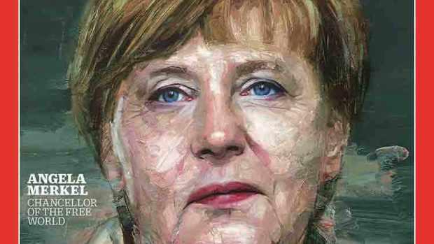 Merkel, persona del año, según Time