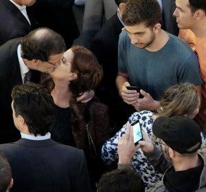 Rajoy se retrata con la gente