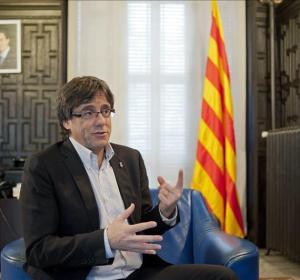 El alcalde de Girona, el convergente Carles Puigdemont