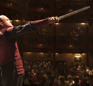 Representación de la Royal Shakespeare Company en Stratford-upon-Avon