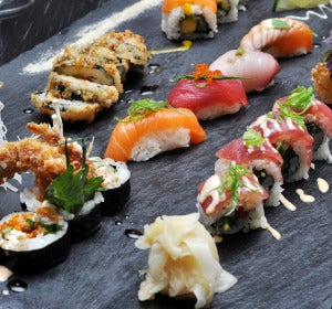 Sushi y sashimi, la dieta japonesa