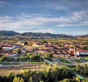 Barrio de la Estación de Haro (La Rioja)