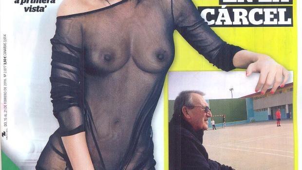 Mónica Ceide protagoniza la portada de Interviú