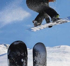 Snowboard en Baqueira