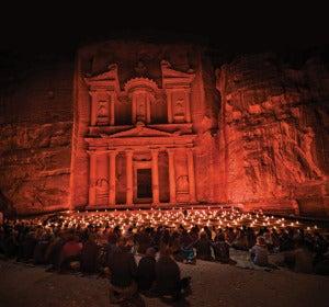 Espectáculo Petra by Night