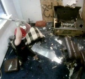 Se destroza toda la habitación