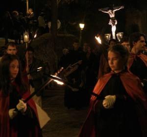 Desfile de las Antorchas de Segovia
