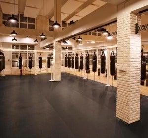 El espacio dedicado al boxeo
