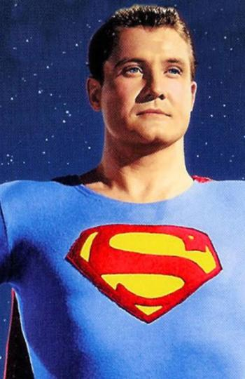 George Reeves como Superman