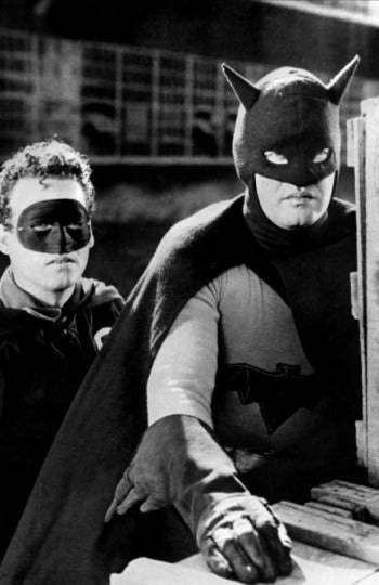 Lewis Wilson, el primer Batman (y lo que ha evolucionado la costura)