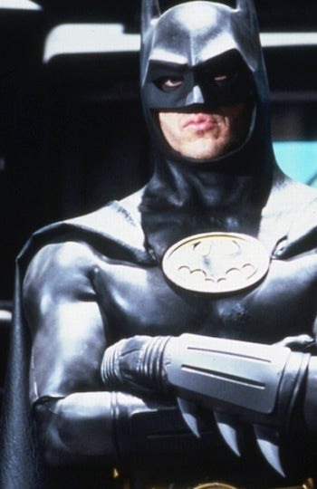 Michael Keaton sacaba morritos