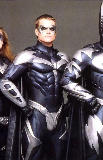 ¡Uy, pero si han cambiado a Batman y a Robin no!