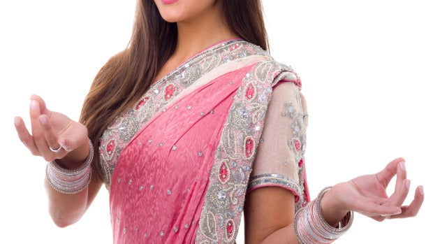 Cristina Pedroche vestida con un sari