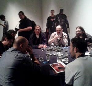 Mesa redonda con el dibujante de DC, Jesús Merino.