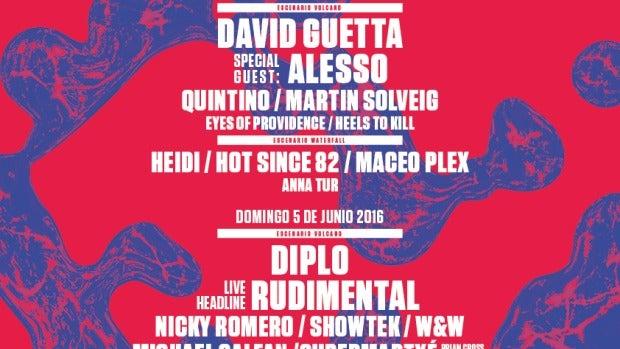 Cartel 'Utopía' de Madrid