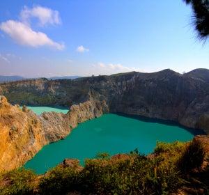 Lagos de los cráteres del Kelimutu